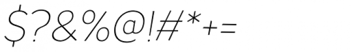 TT Pines Light Italic Font OTHER CHARS