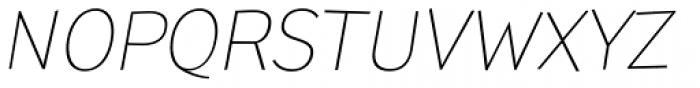 TT Pines Light Italic Font UPPERCASE