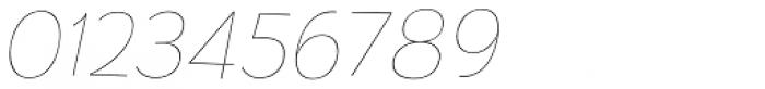 TT Pines Thin Italic Font OTHER CHARS