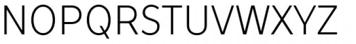 TT Prosto Sans Condensed Light Font UPPERCASE
