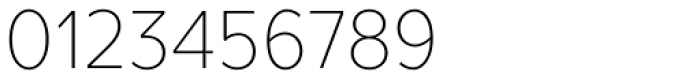TT Prosto Sans Condensed Thin Font OTHER CHARS