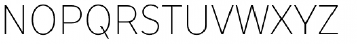 TT Prosto Sans Condensed Thin Font UPPERCASE
