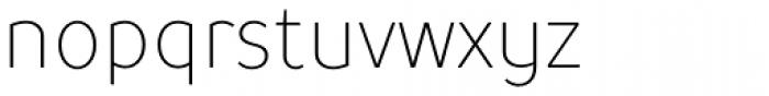 TT Prosto Sans Condensed Thin Font LOWERCASE