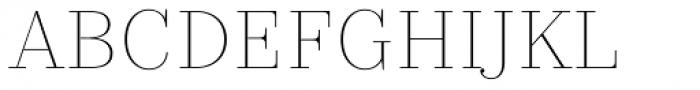 TT Pubs Extra Light Font UPPERCASE