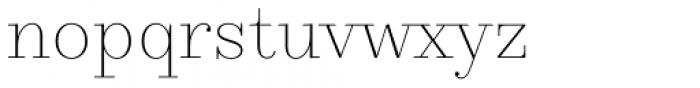 TT Pubs Extra Light Font LOWERCASE