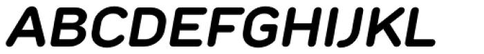 TT Rounds Bold Italic Font UPPERCASE