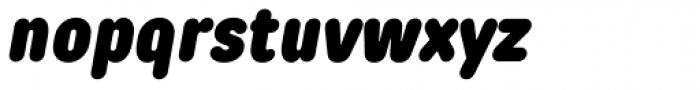 TT Rounds Condensed Black Italic Font LOWERCASE