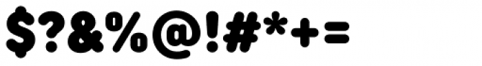 TT Rounds Neue Condensed Black Font OTHER CHARS
