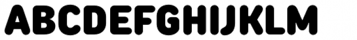 TT Rounds Neue Condensed Black Font UPPERCASE