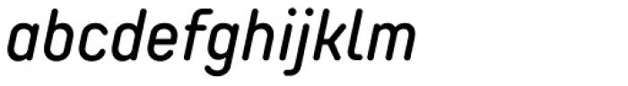TT Rounds Neue Condensed Medium Italic Font LOWERCASE