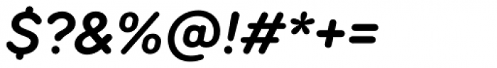 TT Rounds Neue Demi Bold Italic Font OTHER CHARS