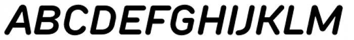TT Rounds Neue Demi Bold Italic Font UPPERCASE