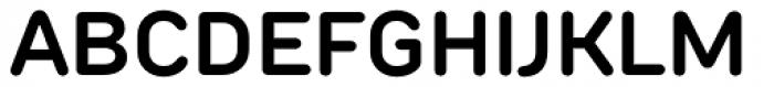TT Rounds Neue Demi Bold Font UPPERCASE