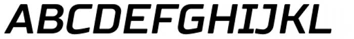 TT Russo Sans Bold Italic Font UPPERCASE