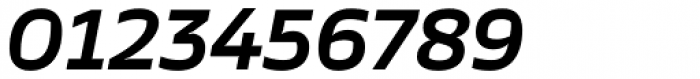 TT Severs Demi Bold Italic Font OTHER CHARS