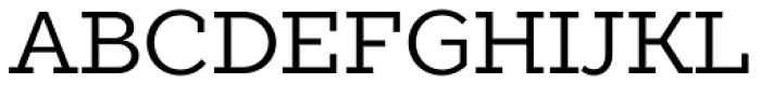 TT Slabs Regular Font UPPERCASE
