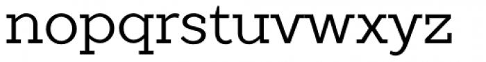 TT Slabs Regular Font LOWERCASE