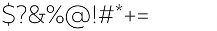 TT Smalls Extra Light Font OTHER CHARS