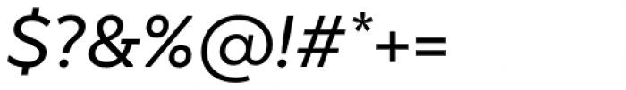 TT Smalls Medium Italic Font OTHER CHARS
