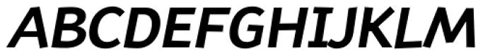 TT Souses Bold Italic Font UPPERCASE