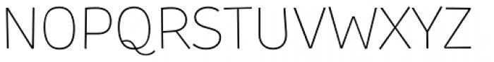TT Souses Thin Font UPPERCASE