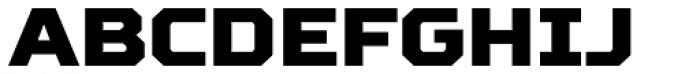 TT Squares Black Font UPPERCASE