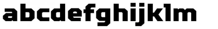 TT Squares Black Font LOWERCASE