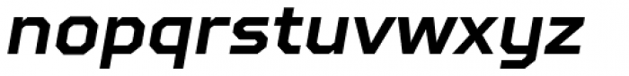 TT Squares Bold Italic Font LOWERCASE