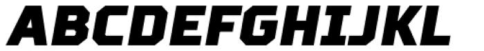 TT Squares Condensed Black Italic Font UPPERCASE