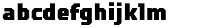 TT Squares Condensed Black Font LOWERCASE