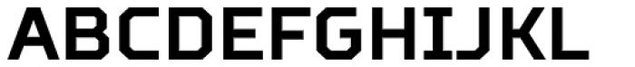 TT Squares Condensed Bold Font UPPERCASE