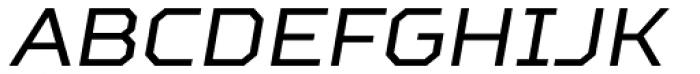 TT Squares Italic Font UPPERCASE