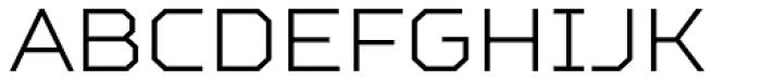 TT Squares Light Font UPPERCASE