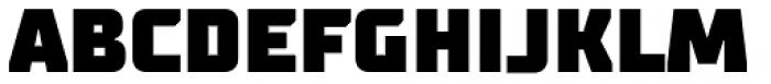 TT Supermolot Black Font UPPERCASE