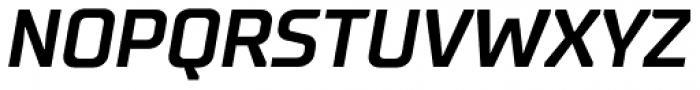 TT Supermolot Bold Italic Font UPPERCASE
