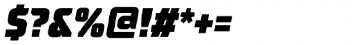 TT Supermolot Condensed Black Italic Font OTHER CHARS