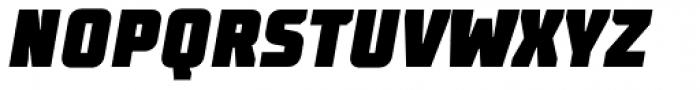 TT Supermolot Condensed Black Italic Font UPPERCASE