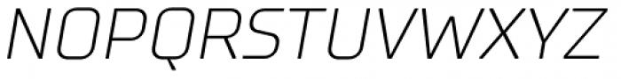 TT Supermolot Light Italic Font UPPERCASE