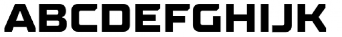 TT Supermolot Neue Expanded Extra Bold Font UPPERCASE