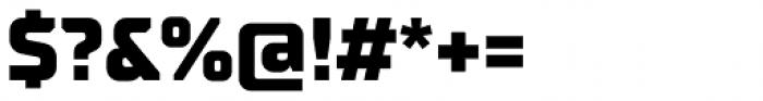 TT Supermolot Neue Extra Bold Font OTHER CHARS