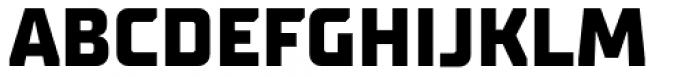 TT Supermolot Neue Extra Bold Font UPPERCASE