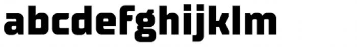 TT Supermolot Neue Extra Bold Font LOWERCASE
