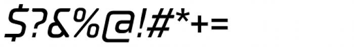 TT Supermolot Neue Medium Italic Font OTHER CHARS