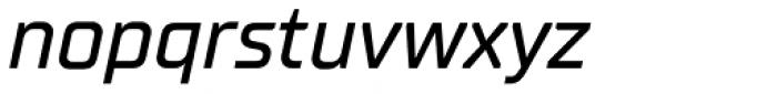 TT Supermolot Neue Medium Italic Font LOWERCASE
