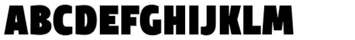 TT Teds Black Font UPPERCASE