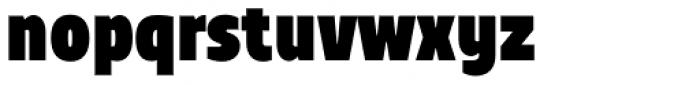 TT Teds Black Font LOWERCASE