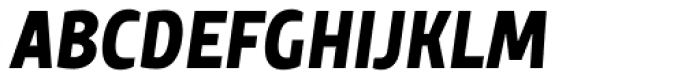 TT Teds Bold Italic Font UPPERCASE