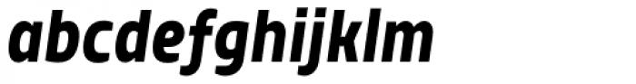 TT Teds Bold Italic Font LOWERCASE