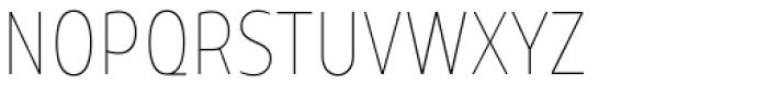 TT Teds Thin Font UPPERCASE