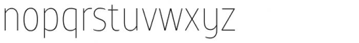 TT Teds Thin Font LOWERCASE